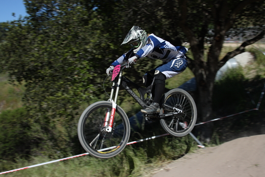 Downhill photo by Jamie