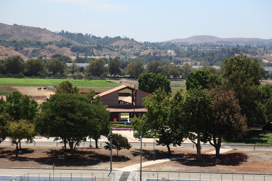 Kellogg Ranch view from the parking structure