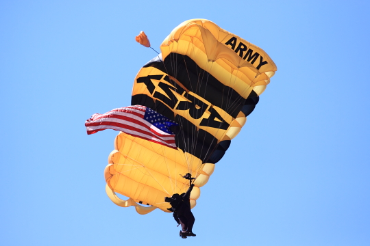 US Army Golden Knight