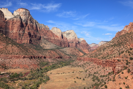 View from the top of Watchman trail