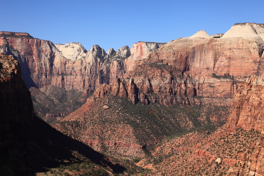 View from the top of the Canyon Overlook trail